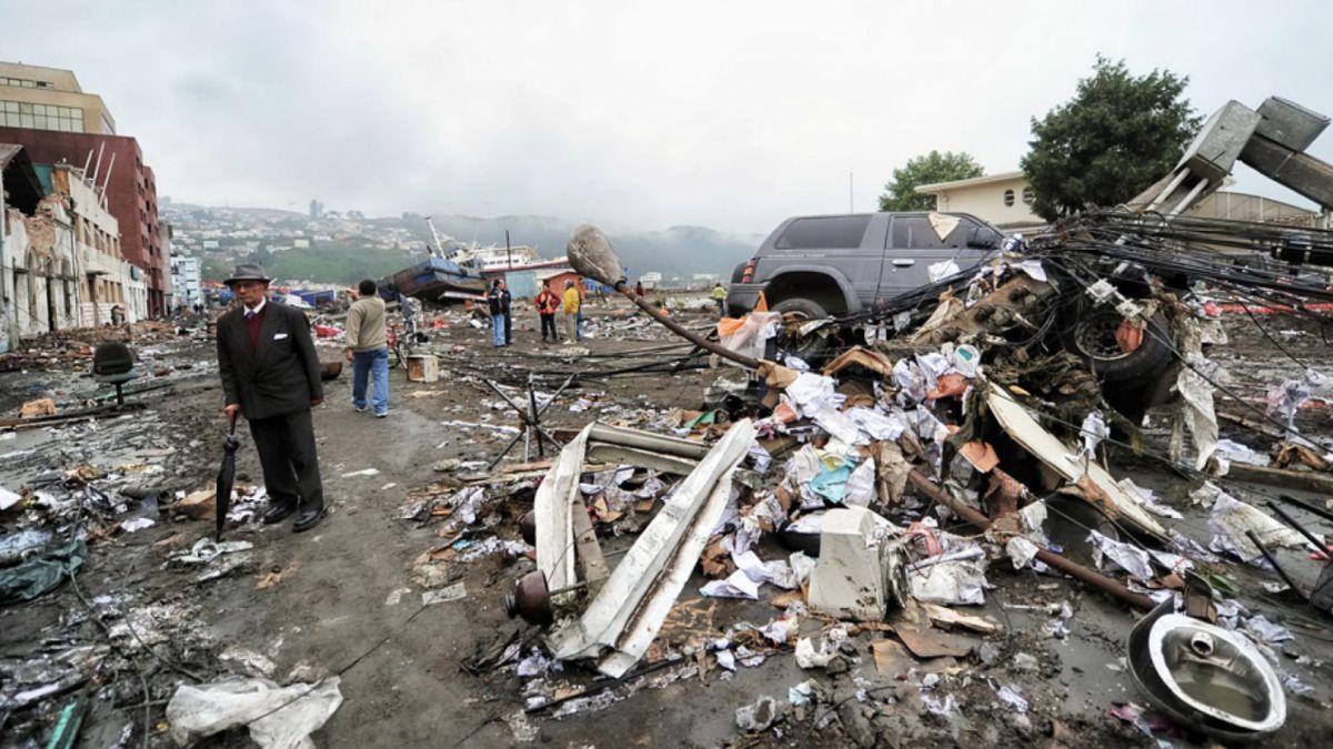 Tsunami en Chile en 2010