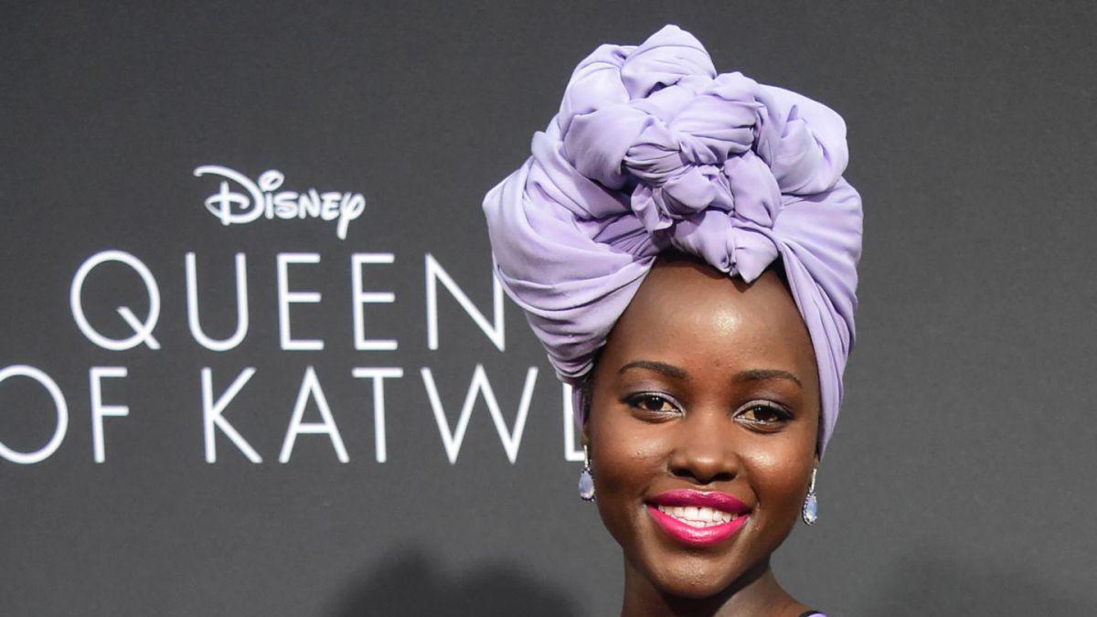 Lupita Nyong'o decepcionada de revista porque ocultó su cabello