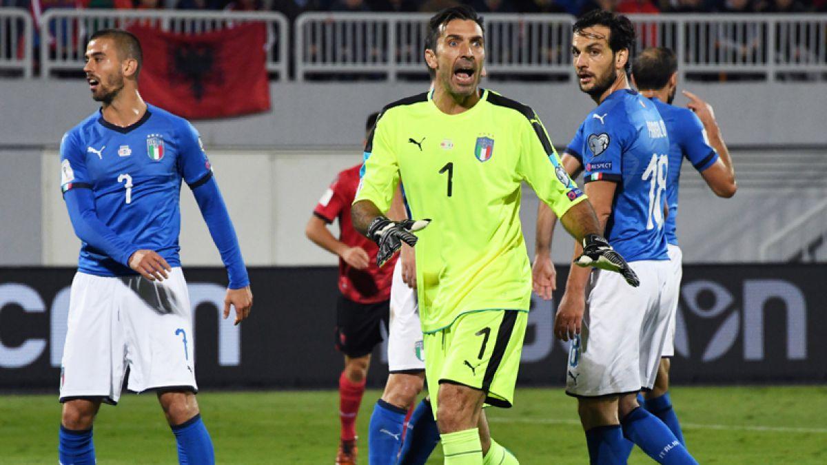 Buffon va por récord con Italia en los repechajes europeos a Rusia 2018