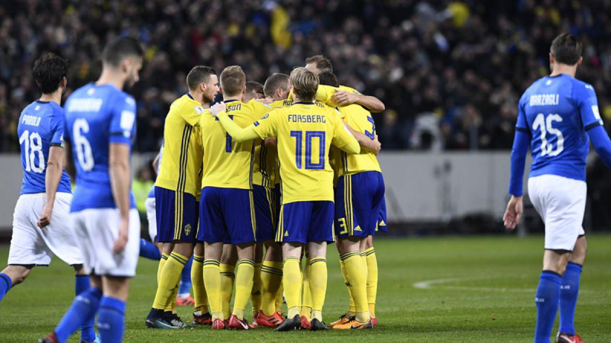 Italia pone en peligro su presencia en el Mundial de Rusia 2018 tras perder en Suecia