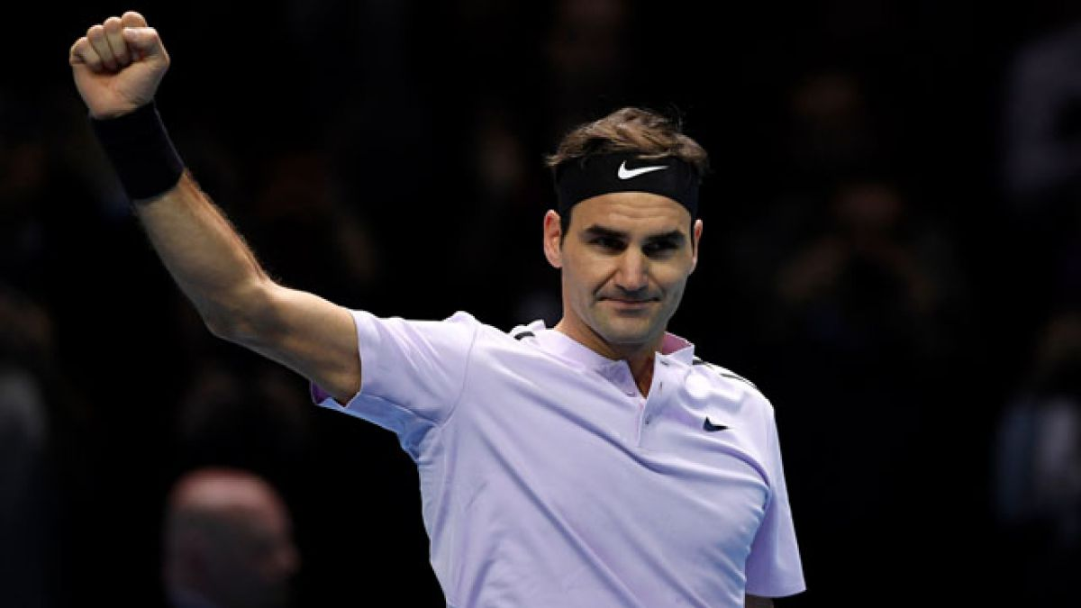 Federer derrota con solvencia a Sock en su estreno en el Masters