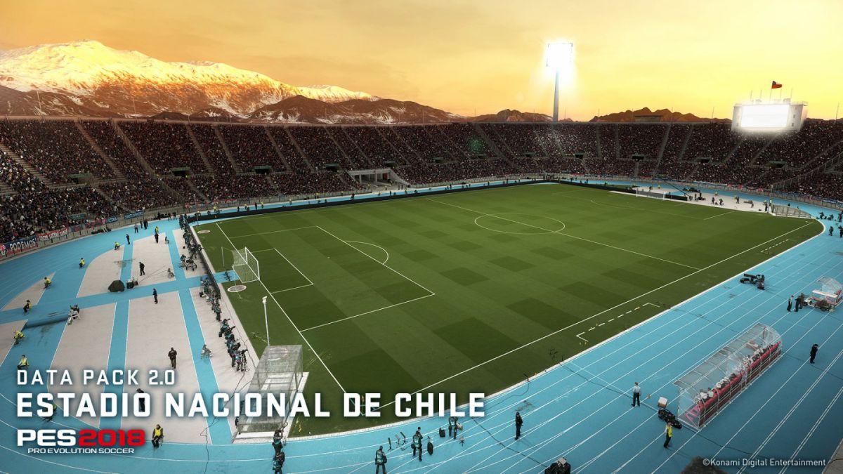 Esta semana llega el Estadio Nacional de Chile a PES 2018