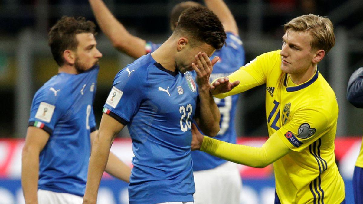 Italia empata con suecia y queda fuera del mundial de for Fuera de convenio 2018