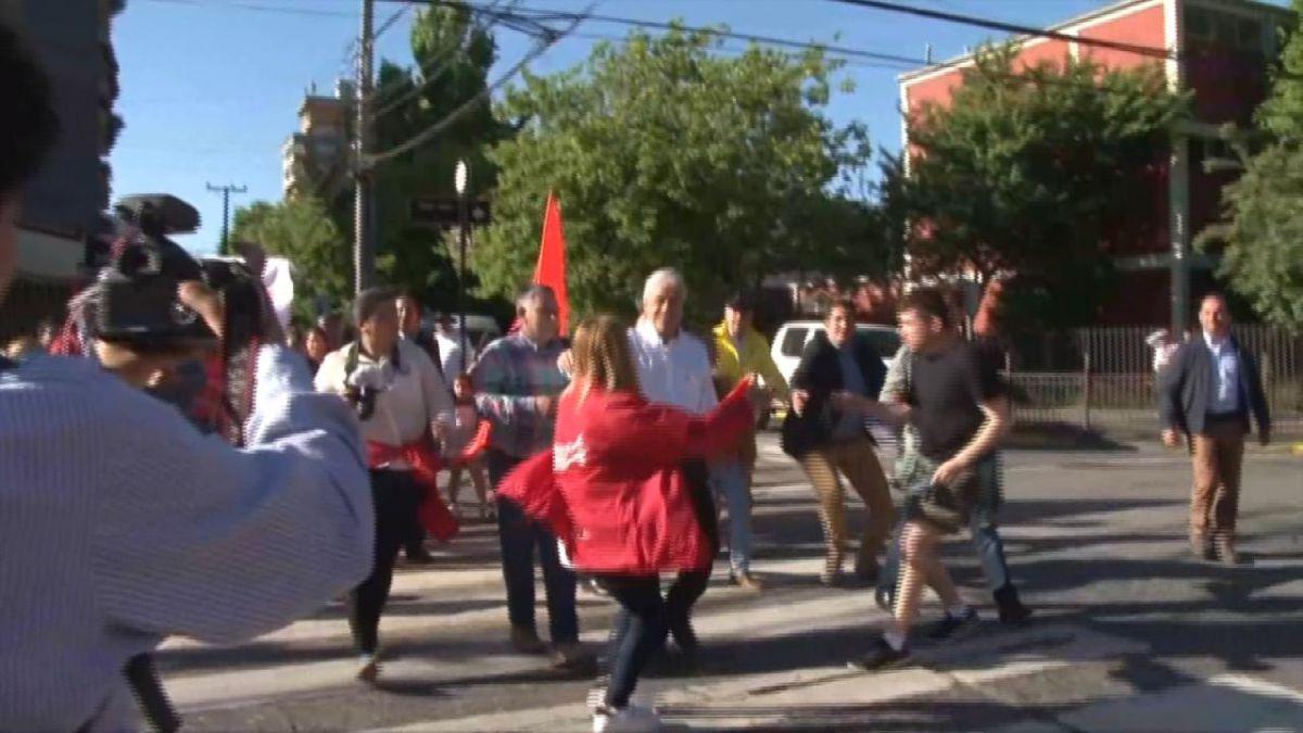 Detienen a sobrino de Navarro tras lanzar monedas a Piñera en Concepción