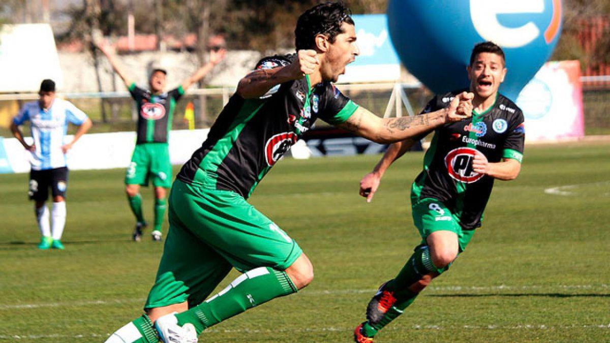 El agradecimiento de Sebastián Abreu por convertirse en goleador de la Primera B