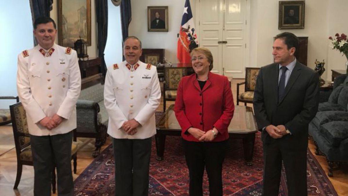 Presidenta designa a nuevo Comandante en Jefe del Ejército