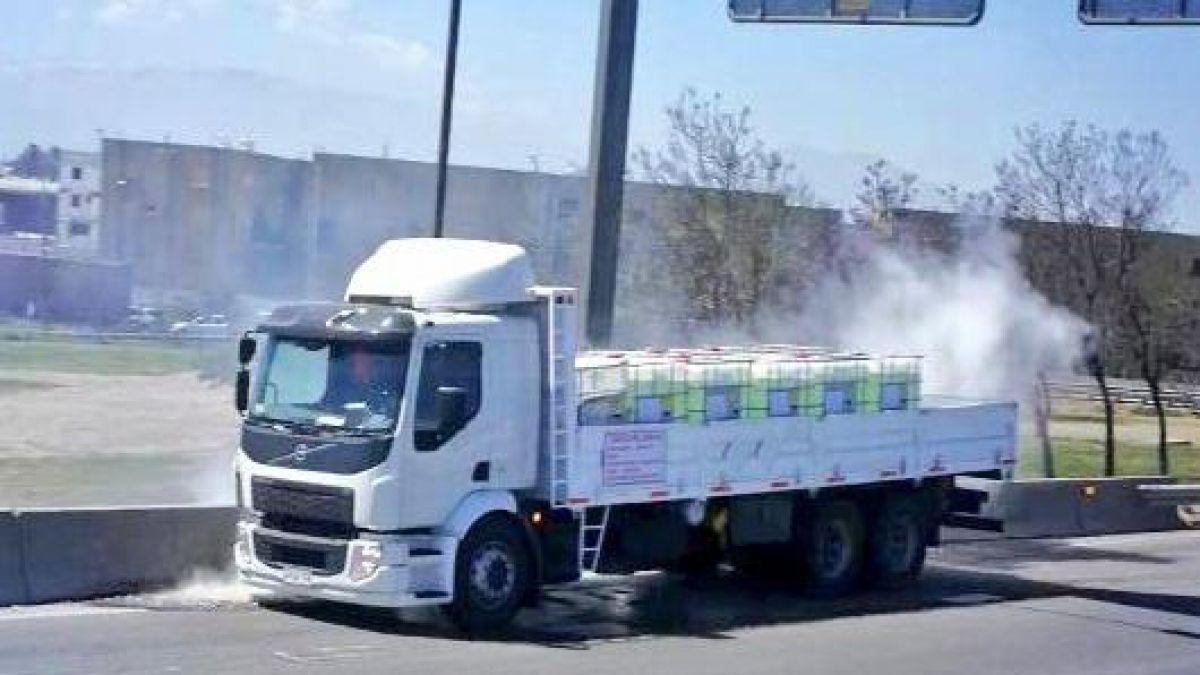 Emergencia química obliga cierre de General Velásquez al Norte