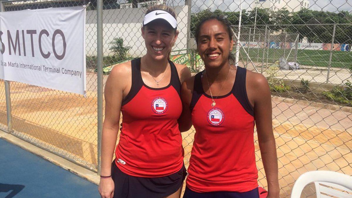 Juegos Bolivarianos: Seguel y Guarachi dan oro a Chile en dobles del tenis femenino