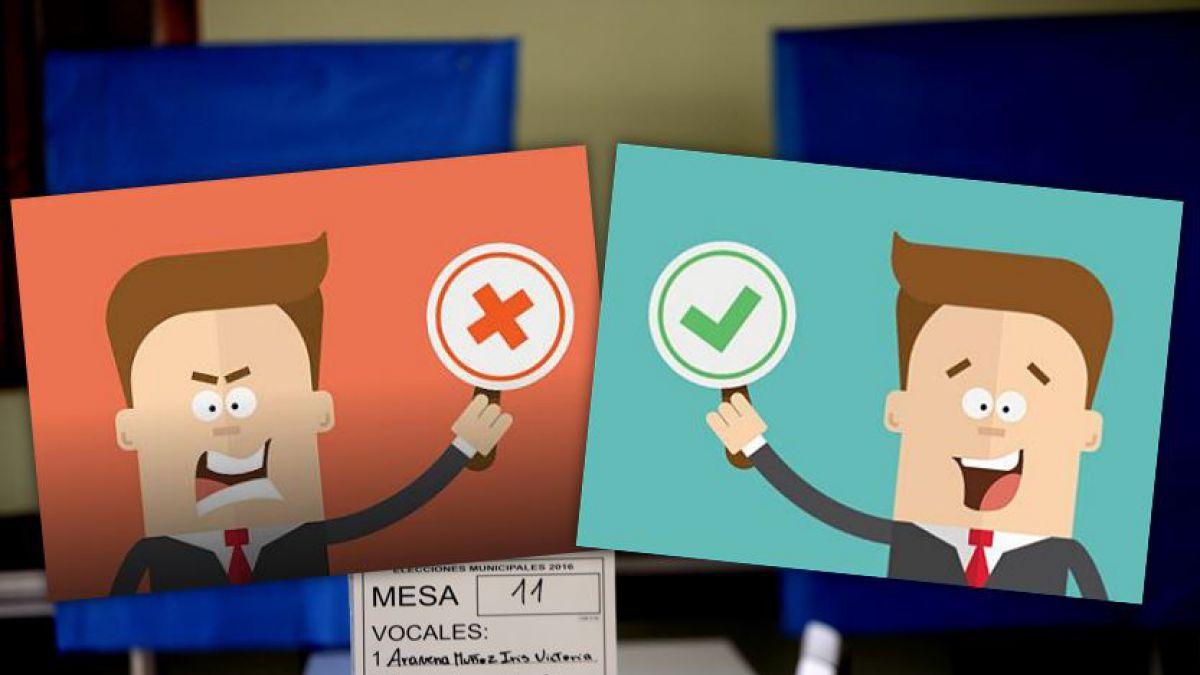 Elecciones 2017: lo que no debes hacer al momento de votar   Tele 13