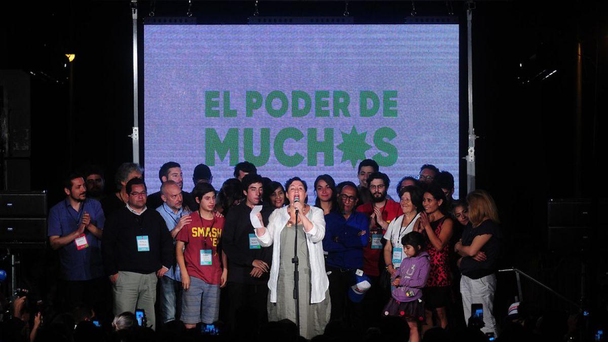 Frente Amplio consigue 20 diputados y se consolida como la tercera fuerza