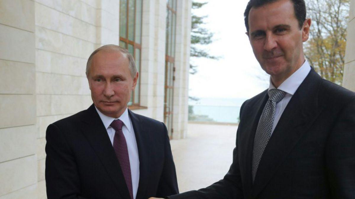 Conflicto en Siria a punto de terminar: Putin y Assad
