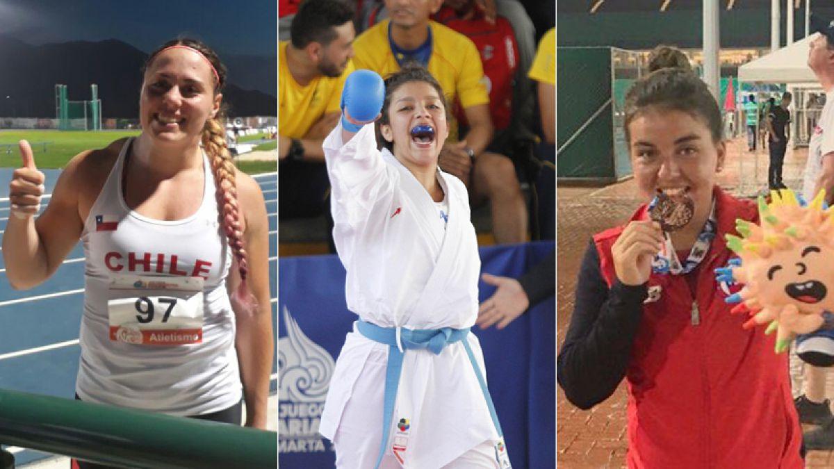 Las mujeres brillan dándole a Chile nuevas medallas de oro en los Juegos Bolivarianos