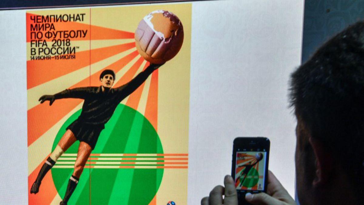 Presentan el póster oficial del Mundial Rusia 2018