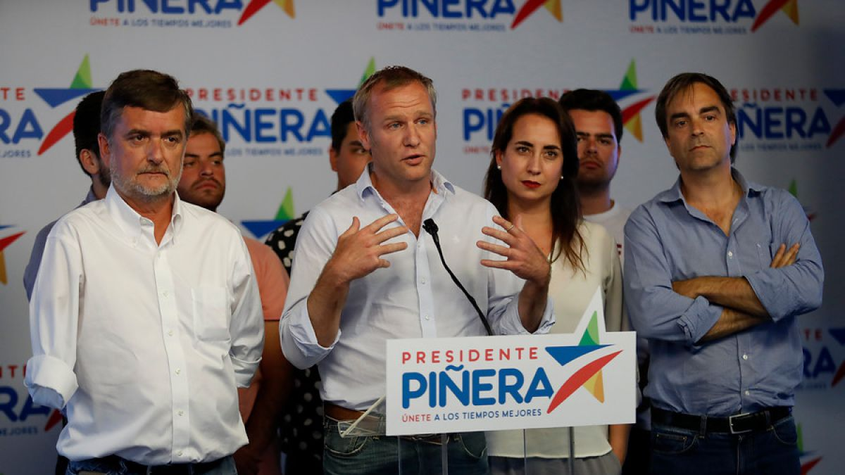 Ossandón lanza eslogan en apoyo a Piñera reiterando propuesta de gratuidad