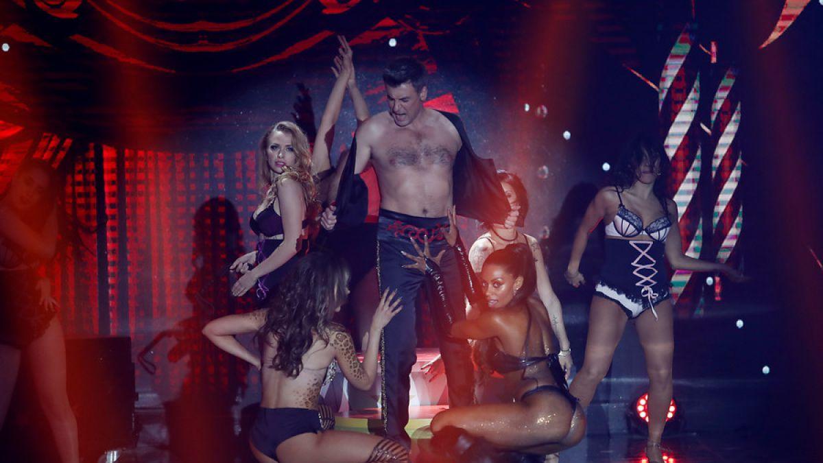 Paloma Fiuza y su baile hot en la Teletón Chile 2017 [FOTOS]