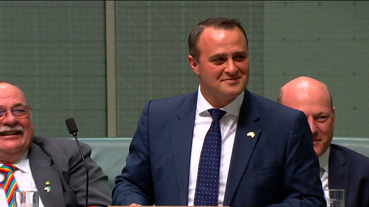 Diputado gay pide matrimonio a su novio en pleno Parlamento australiano