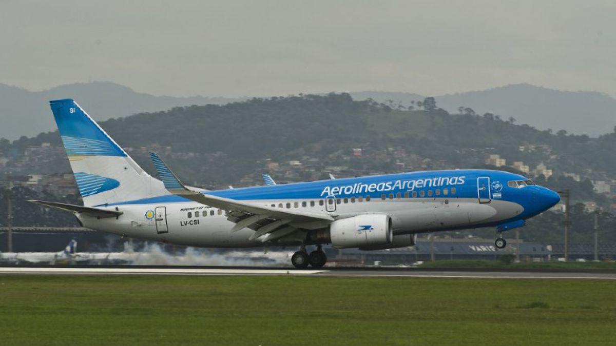 Aerolíneas Argentinas recibió uno de los aviones más modernos del mundo