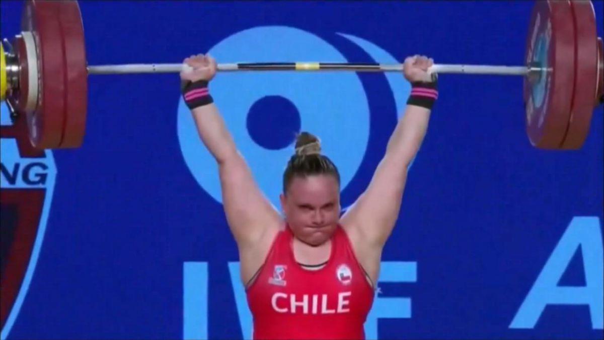 Arley Méndez brilló y es tricampeón mundial en levantamiento de pesas — Espectacular