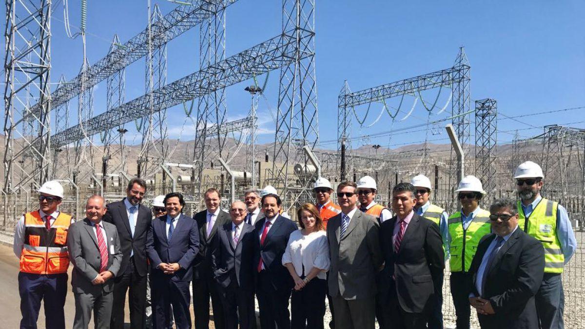 Ministro de Energía entrega reconocimiento a sector público y privado por interconexión SIC-SING