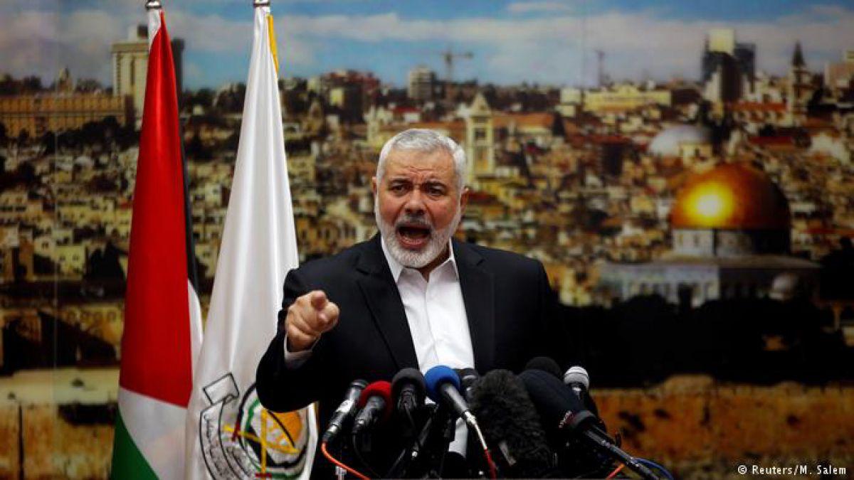 Hamás llama a una nueva intifada tras decisión de Trump