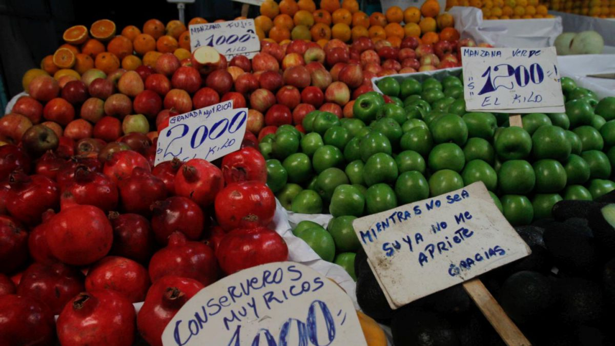 Inflación anual llega a 6.63% en noviembre