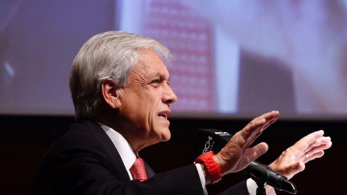 Piñera afirma que comando de Guillier es controlado por las fuerzas de más extrema izquierda