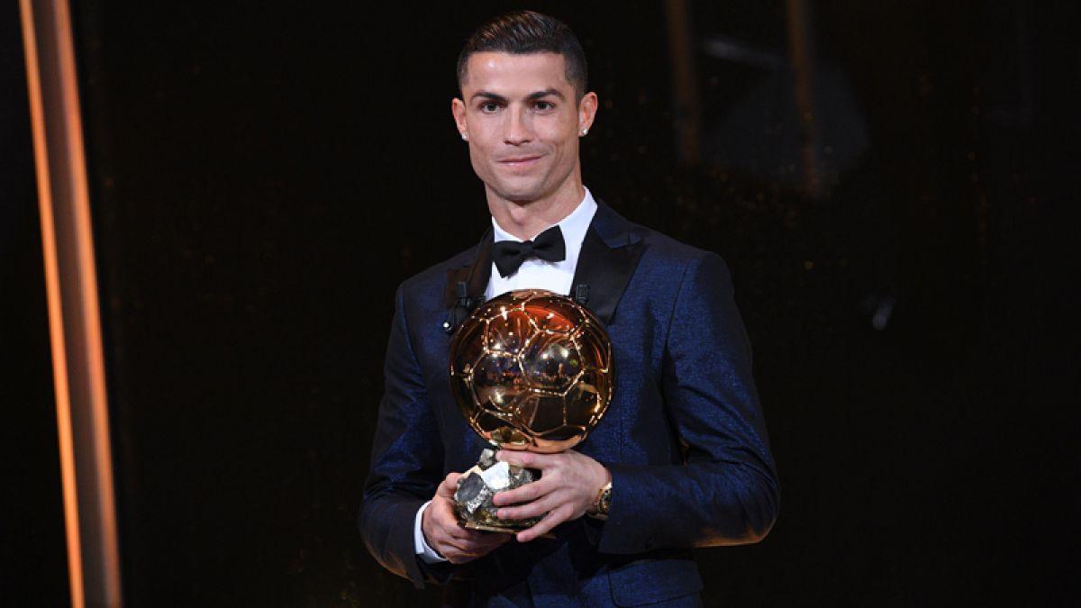 [VIDEO] El mejor del mundo: Cristiano Ronaldo gana su quinto Balón de Oro
