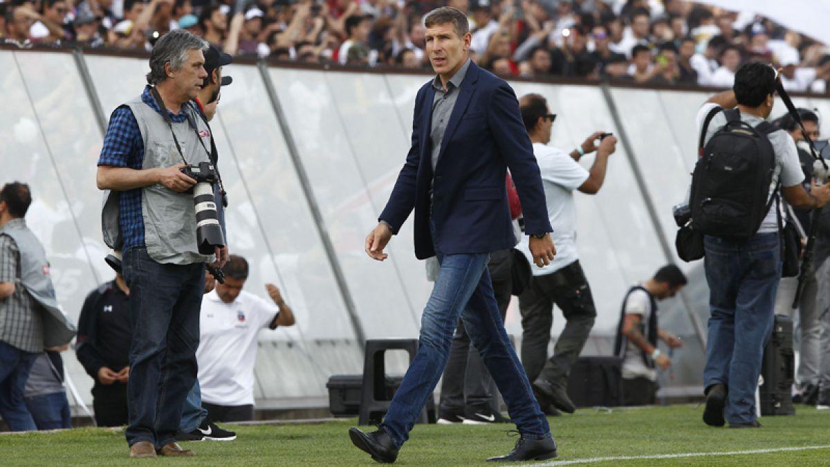 Palermo pide no anticipar a Colo Colo campeón y desmiente el interés en Montillo