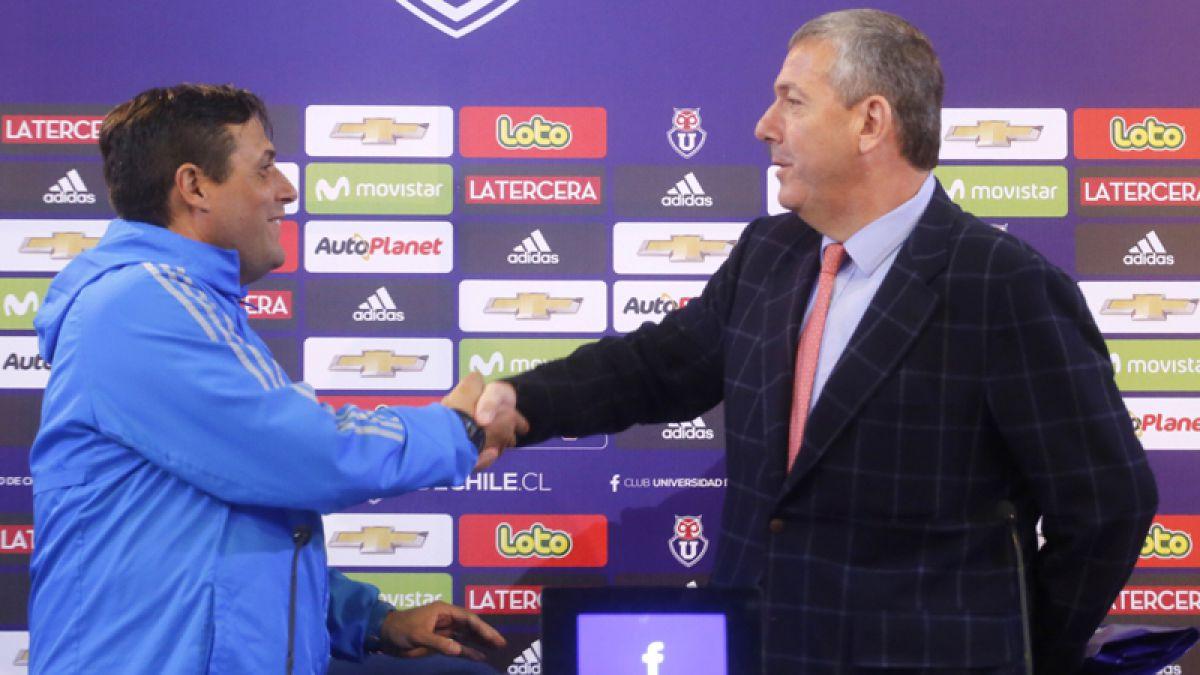 Heller asegura que Hoyos sigue en la U y quiere a Soteldo para la Copa Libertadores