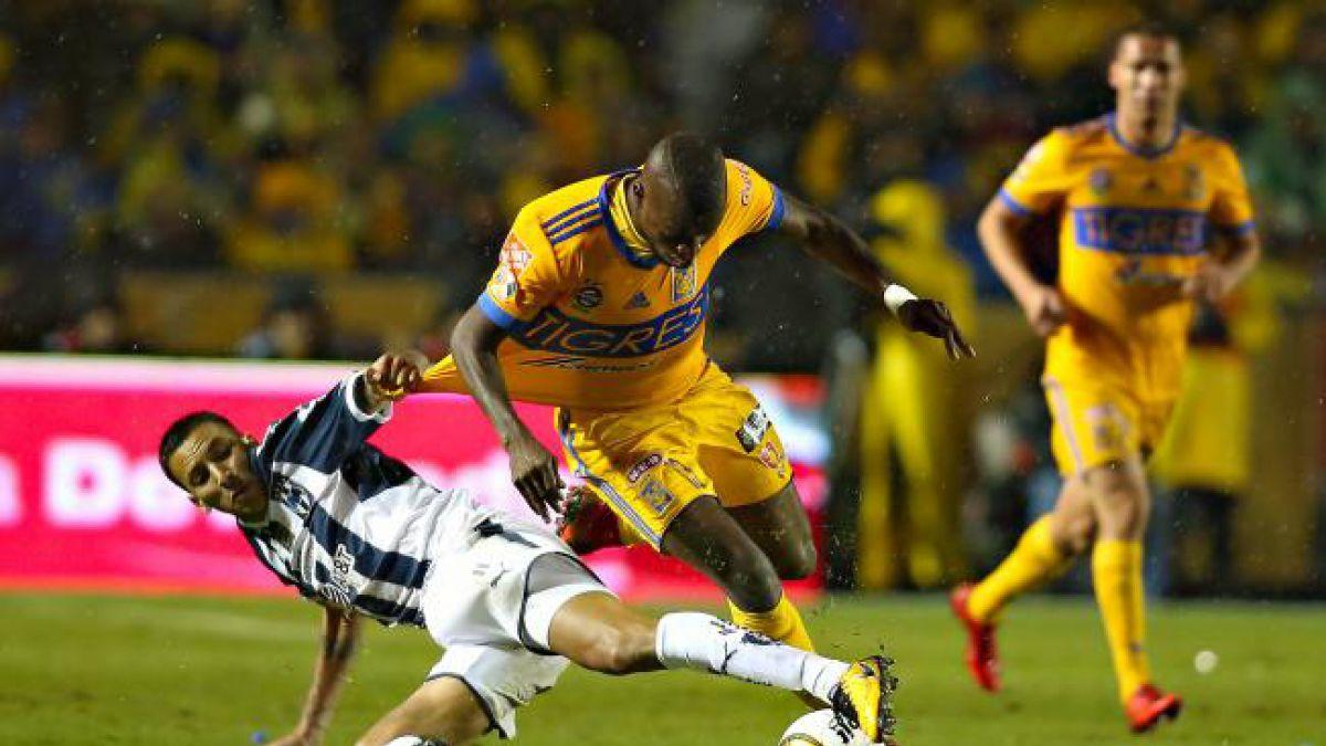 Tigres de Eduardo Vargas empata de local en la final de ida del torneo mexicano