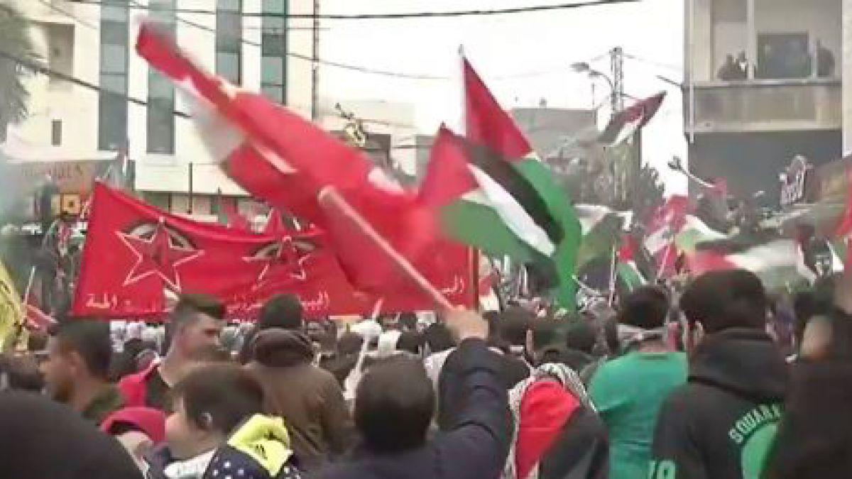 Policía lanzó gases contra manifestantes cerca de embajada de EE.UU — Beirut