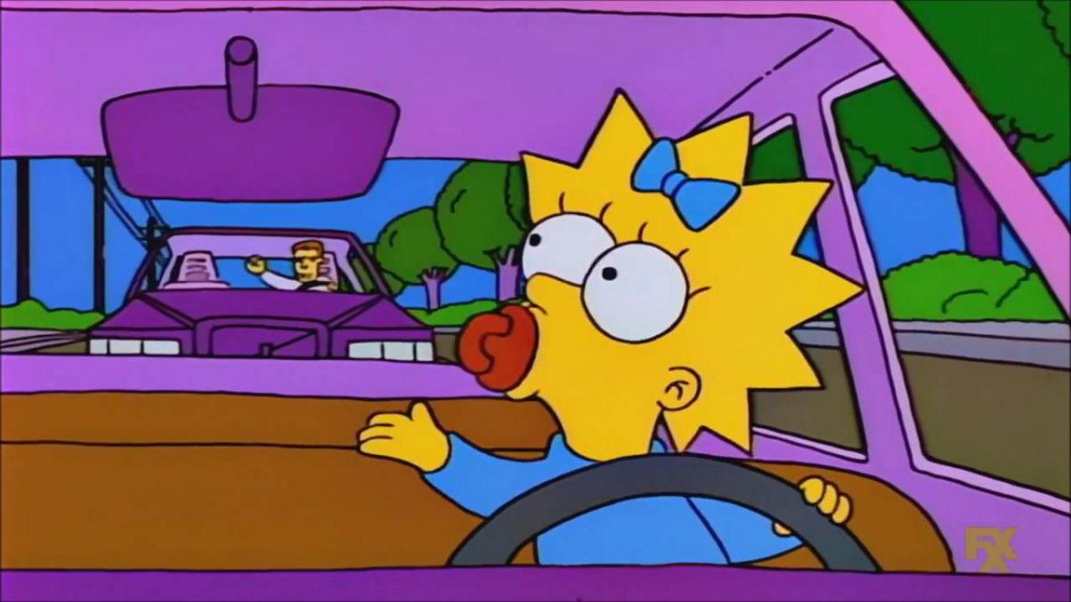 Los Simpson explican por qué Maggie sigue siendo una bebé