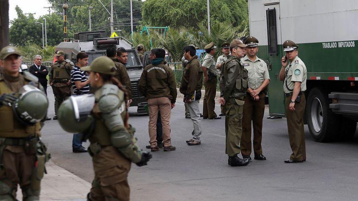 Detenido murió al interior de carro de traslado de imputados de Carabineros
