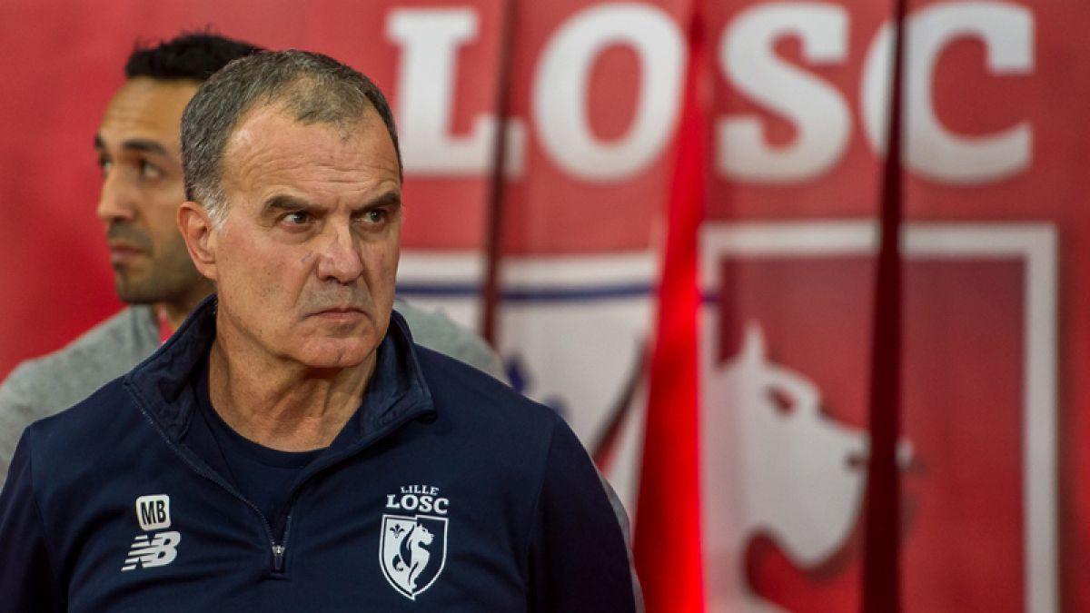 Se terminó la historia: Lille rompe su vínculo con Marcelo Bielsa