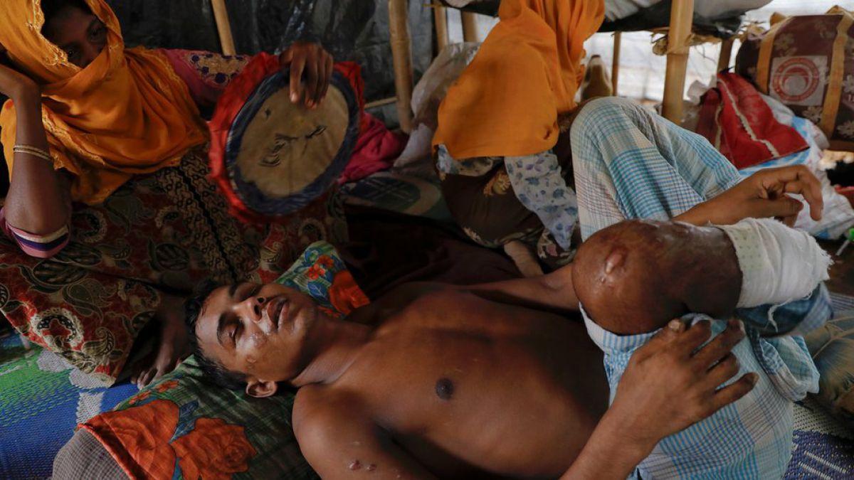 Seis mil 700 rohinyás han sido asesinados en Birmania