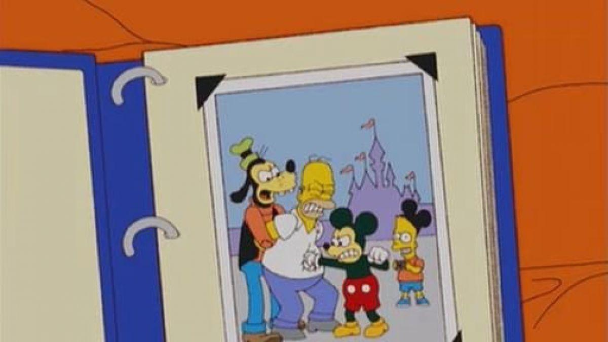 Acuerdo Fox-Disney: Los Simpson dan bienvenida a Mickey Mouse | Tele 13