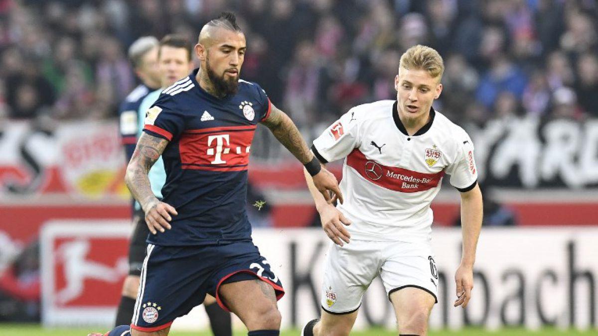 Bayern Munich encuentra el triunfo en el final ante Stuttgart