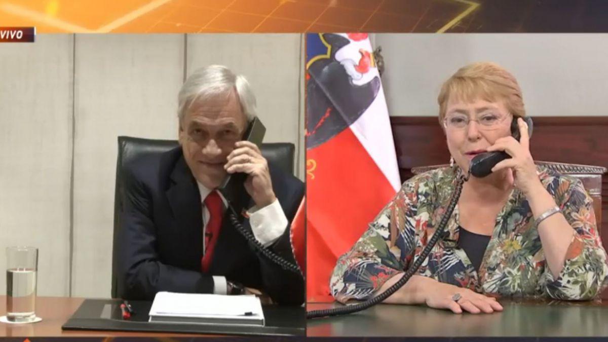 [ELECCIONES CHILE] Mirá el video: Ganó Piñera y junto a Bachelet dieron un ejemplo democrático