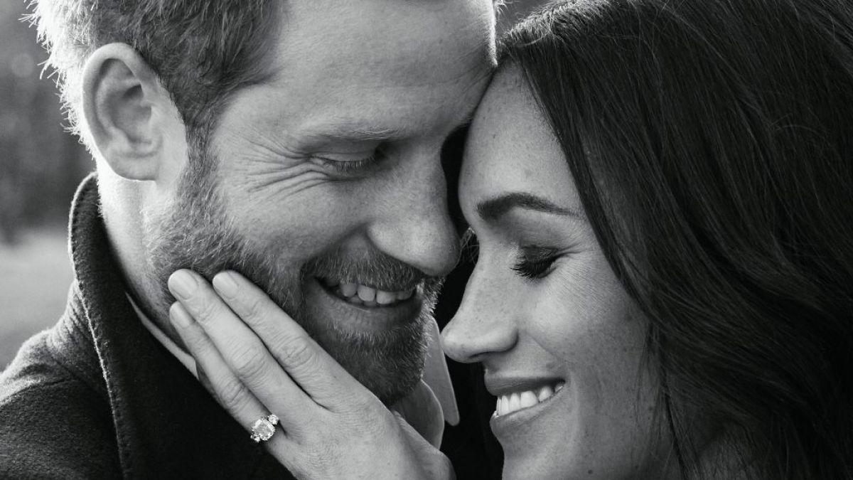 Príncipe Enrique y Meghan Markle divulgan fotos oficiales del compromiso