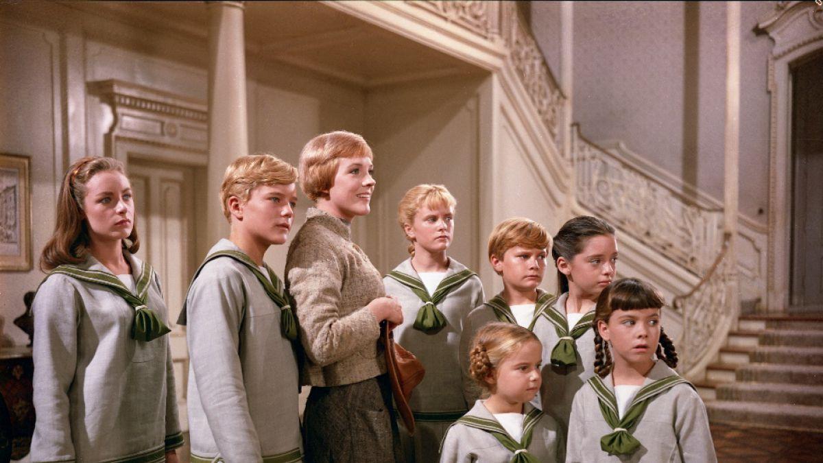 """Los niños Von Trapp en """"La novicia Rebelde"""""""