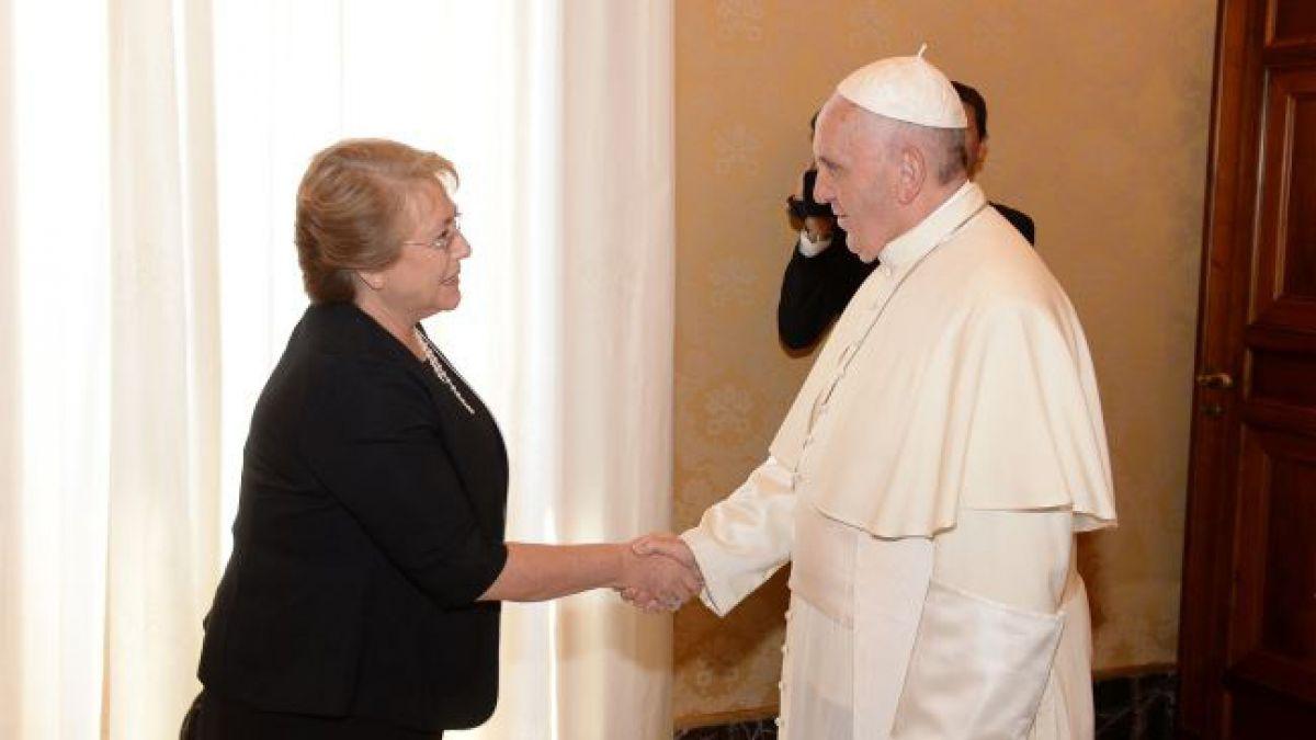 Papa Francisco en Chile: La agenda que tendrá con la Presidenta Bachelet