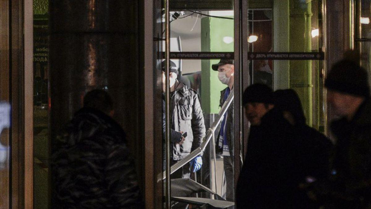 Rusia: explosión en supermercado de San Petersburgo deja varios heridos