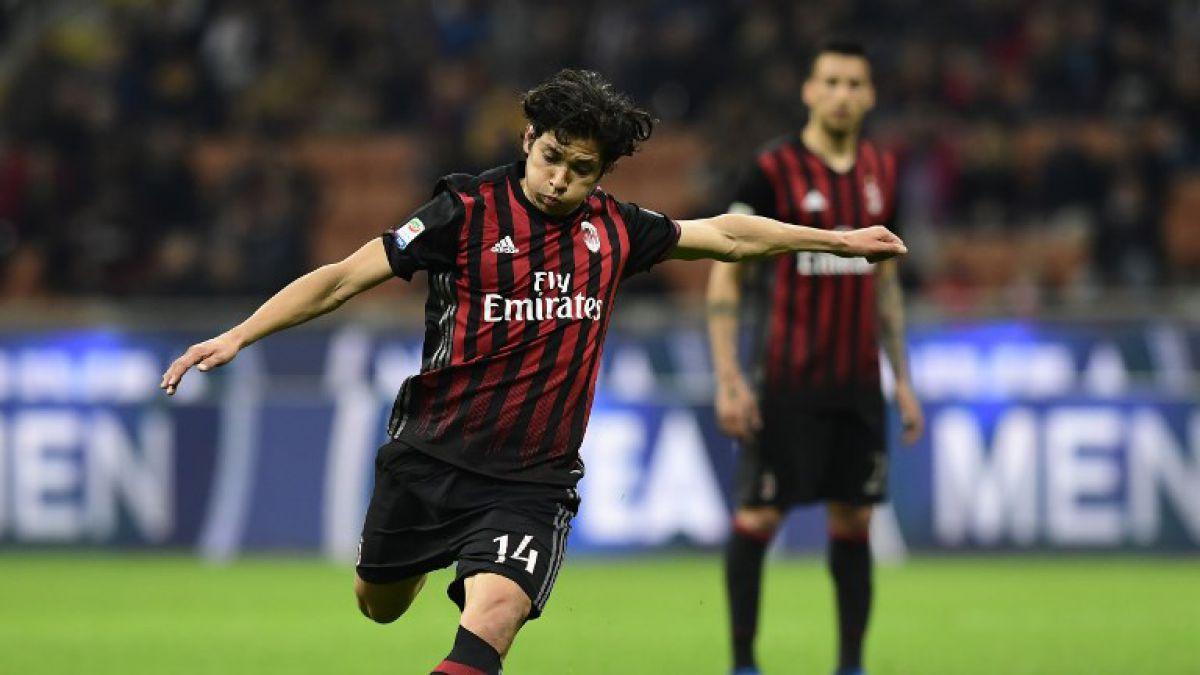 El AC Milan eligió el gol de Matías Fernández como el mejor del 2017