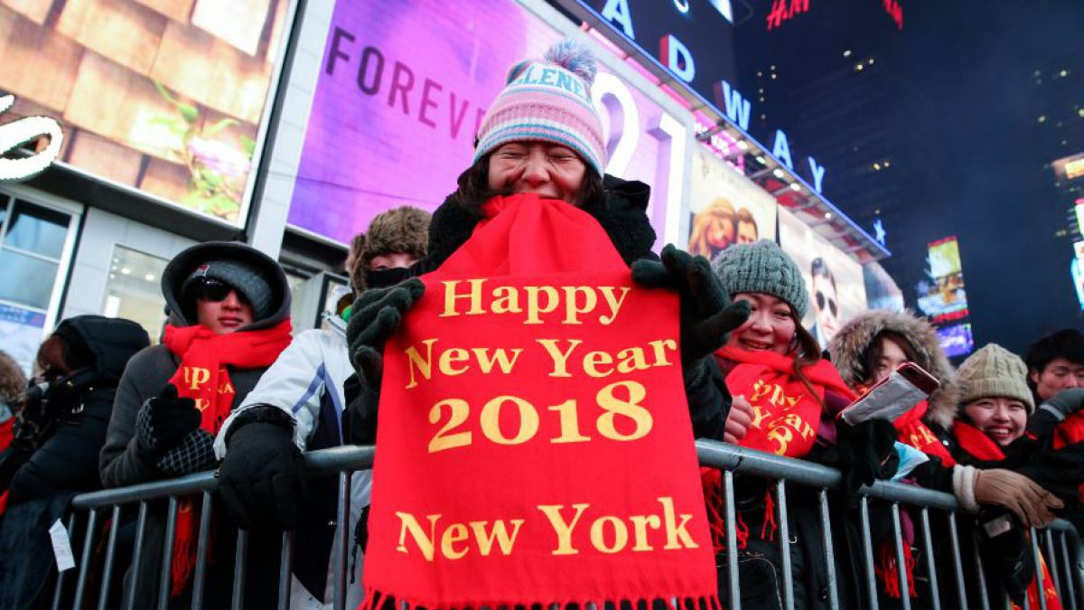 Nueva York aguarda al 2018 con un frío atroz y una seguridad inédita