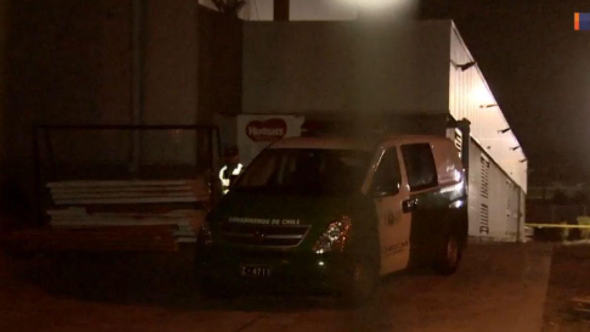 Sujetos roban cerca de $120 millones desde supermercado en San Joaquín