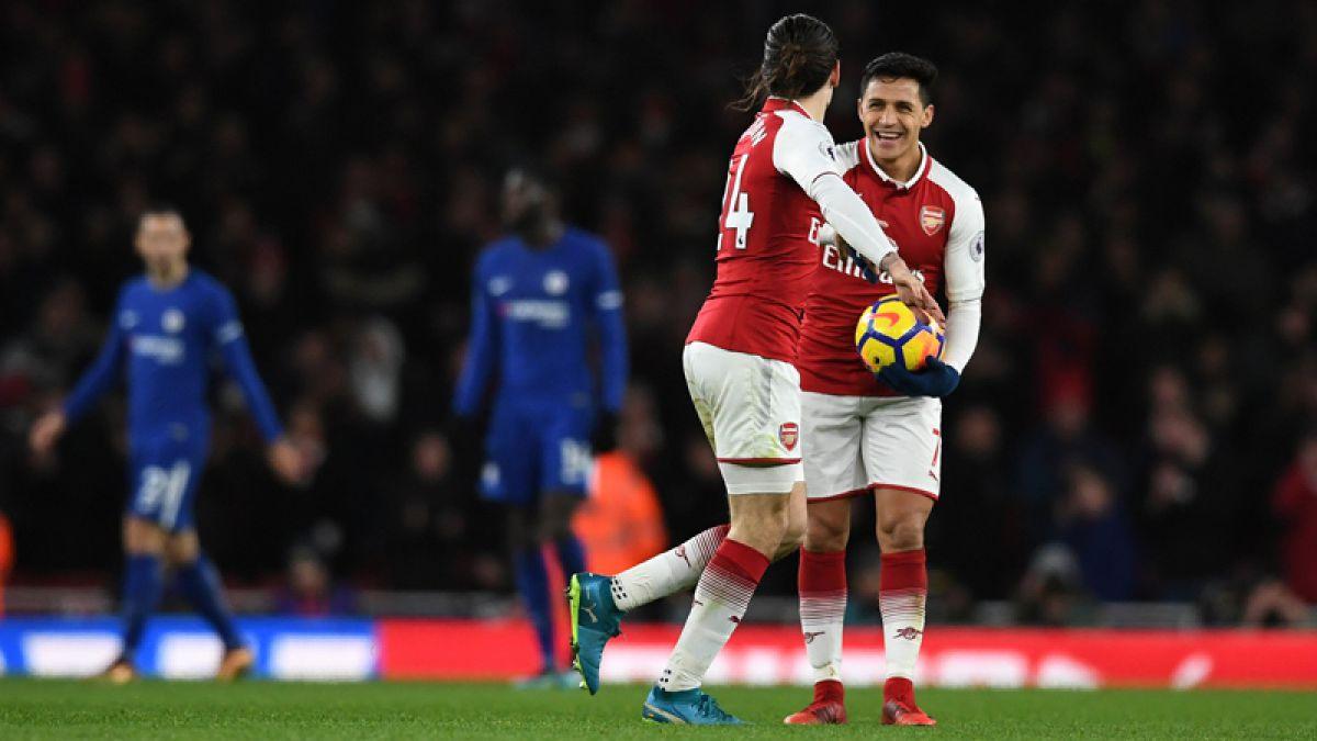 Arsenal rescata el empate con Chelsea