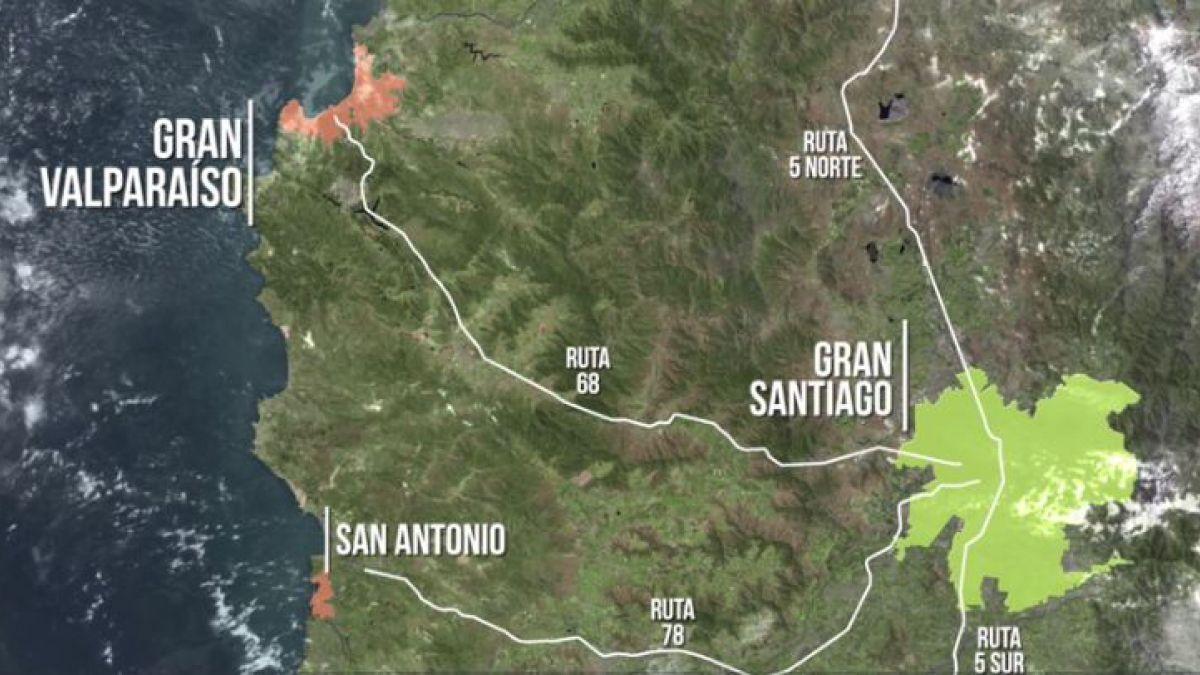 Presentan un proyecto de tren bala para conectar Santiago y Valparaíso