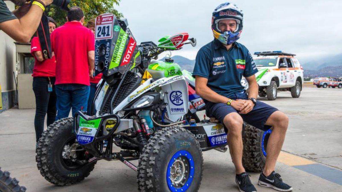 El Perro Casale empezó el Rally Dakar 2018 ladrando fuerte