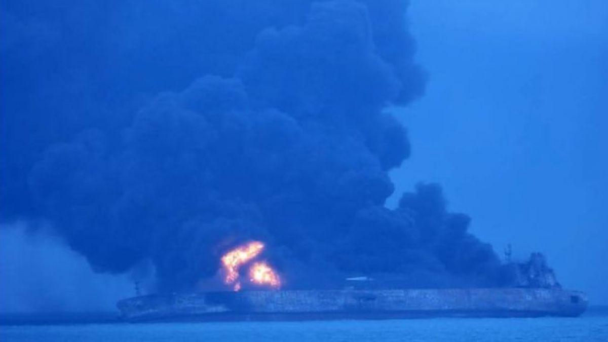 32 desaparecidos tras colisión entre buques registrados en Panamá y Hong Kong