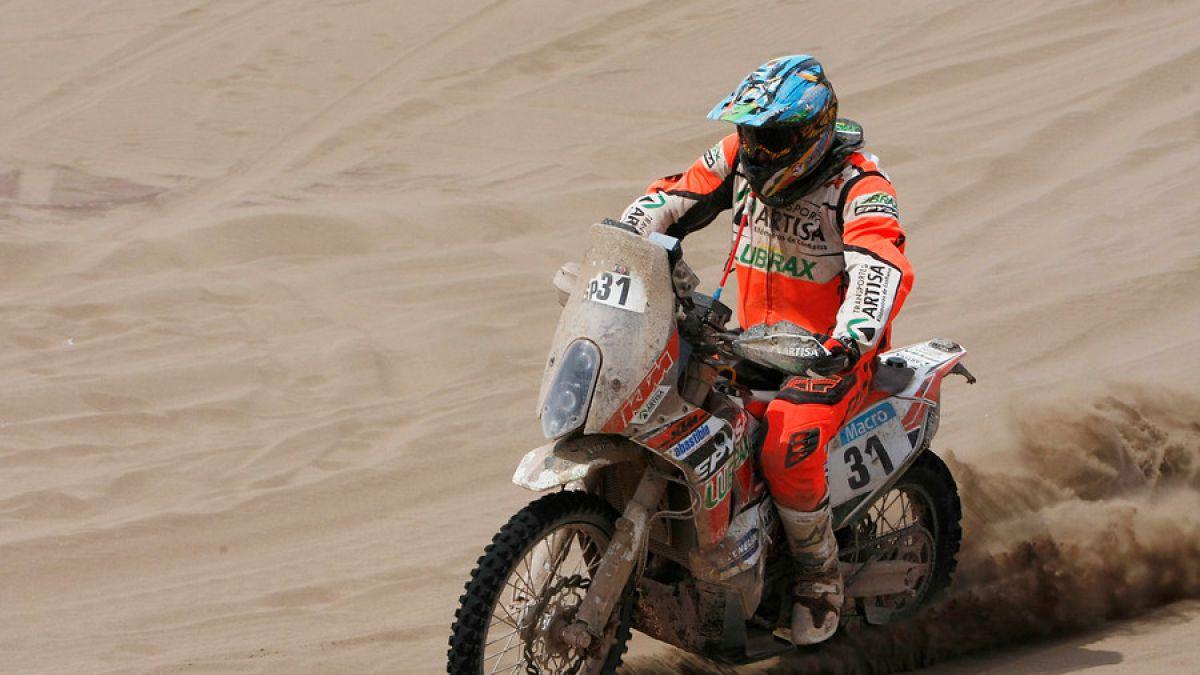 Quintanilla acaba quinto en séptima etapa y se mantiene octavo en la general del Dakar